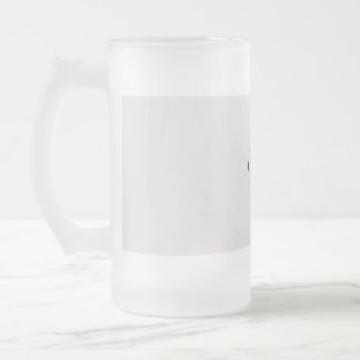 solve your day frosted glass beer mug