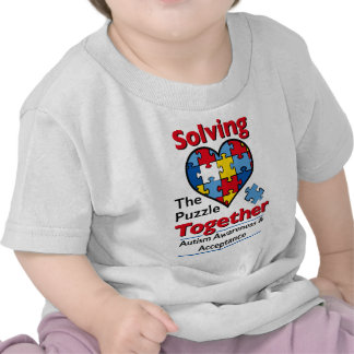 Solving the Puzzle - Autism Awareness Tshirts