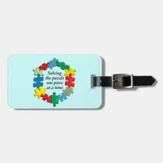 Solving the Puzzle...Blue Luggage Tag