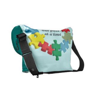 Solving the Puzzle...Messenger Bag Lt. Blue Commuter Bag