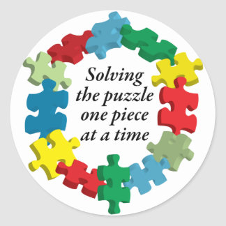 Solving the Puzzle...White Sticker