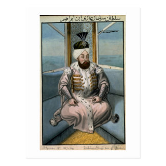 Solyman II (1642-91) Sultan 1687-91, from 'A Serie Postcard