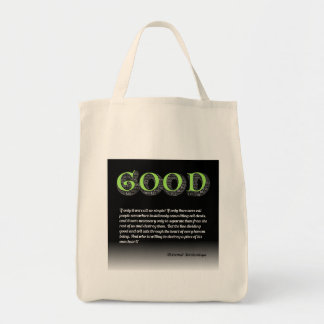 Solzhenitsyn Line Between Good and Evil Quote Tote Bag