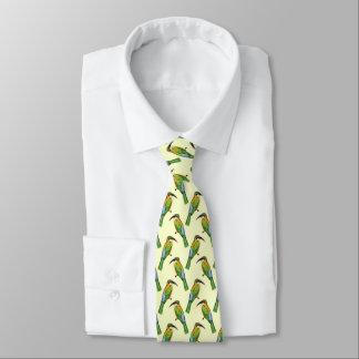 Somali Bee-Eater Vintage Art Pattern Tie