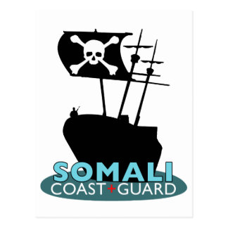 Somali Coast Guard Postcard