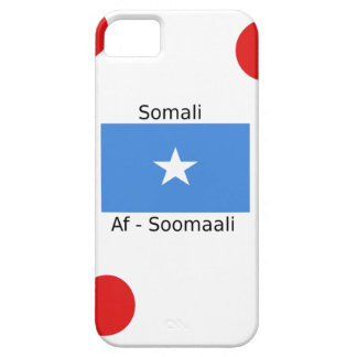 Somali Language And Somalia Flag Design iPhone 5 Cover