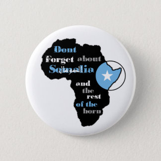 "Somalia Aid Button- ""Africa Exists"" Series 2 Inch Round Button"