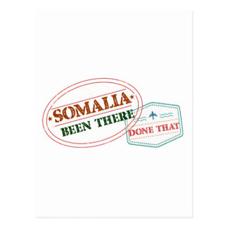 Somalia Been There Done That Postcard