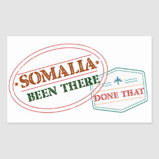 Somalia Been There Done That Sticker