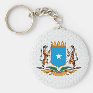 Somalia Coat of Arms detail Keychain