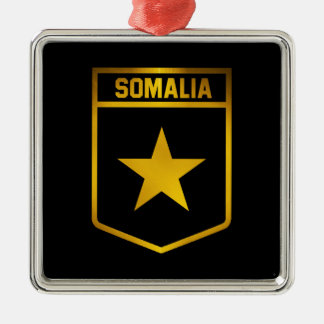 Somalia Emblem Metal Ornament