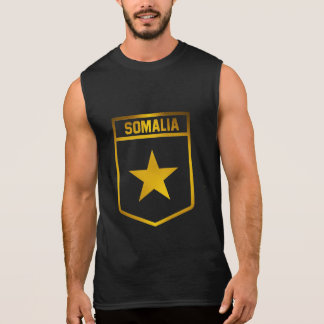 Somalia  Emblem Sleeveless Shirt