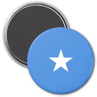 Somalia Flag 3 Inch Round Magnet