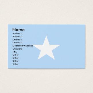Somalia Flag Business Card