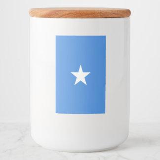 Somalia Flag Food Label