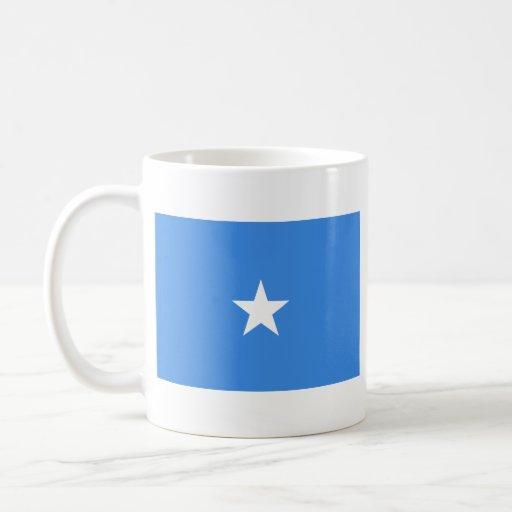 Somalia Flag ~ Map Mug