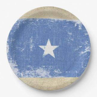 Somalia Flag Paper Plates