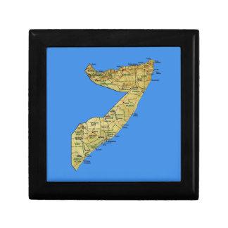 Somalia Map Gift Box