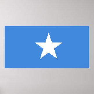 Somalia National World Flag Poster