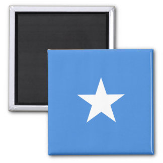 Somalia National World Flag Square Magnet