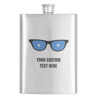 Somalia Shades custom flask