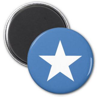 Somalian flag 2 inch round magnet
