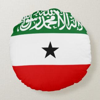 Somaliland Flag Round Pillow