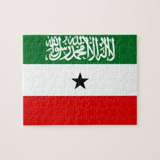 Somaliland National World Flag Puzzle
