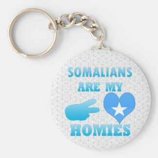 Somalis are my Homies Keychain
