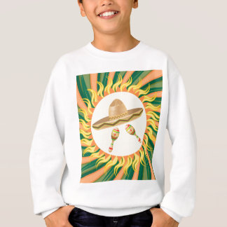 Sombrero and Maracas 3 Sweatshirt