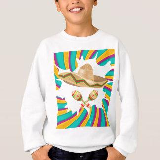 Sombrero and Maracas Sweatshirt