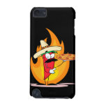 Sombrero Chile Chili Pepper Holds Up Pizza iPod Touch (5th Generation) Covers