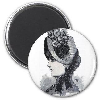 Sombrero de paja de Manila Magnet