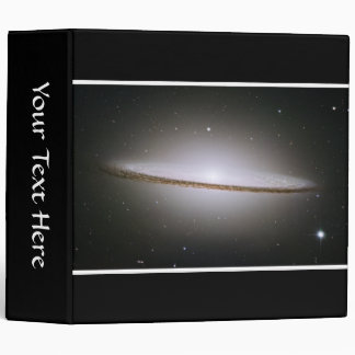 Sombrero Galaxy (Hubble Telescope) 3 Ring Binders