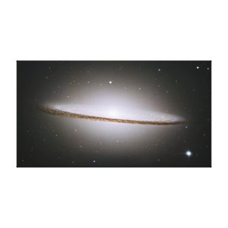 Sombrero Galaxy Wrapped Canvas