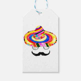 Sombrero Hat Watercolor 2 Gift Tags