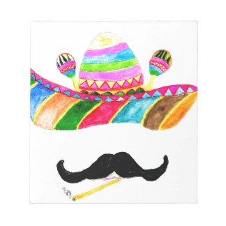 Sombrero Hat Watercolor Notepad