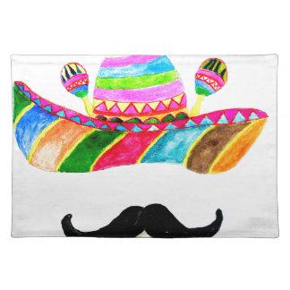 Sombrero Hat Watercolor Placemat