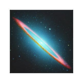 Sombrero spiral galaxy NGC 4594 Canvas Print