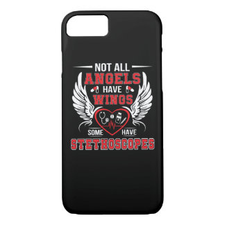 Some Angel Have Stethoscopes Nurse Shirt iPhone 8/7 Case