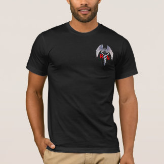 Some Angels Earn Their Wings Mens Medical T-Shirt
