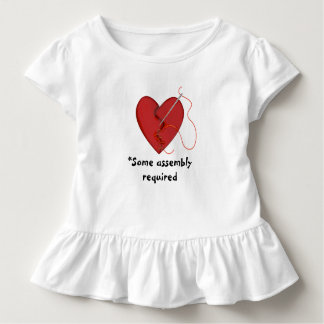 Some Assembly Required Mended Heart Ruffled Shirt