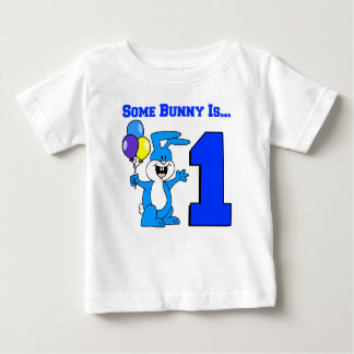 Some Bunny Is One (Blue) Baby T-Shirt