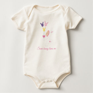 Some Bunny love this little princess Baby Bodysuit