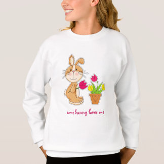Some Bunny Loves Me. Easter Gift Kids T-Shirts