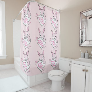 Some Bunny Loves You Shower Curtain