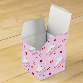 Some Bunny Loves YOU! Valentine's Day Favor Boxes