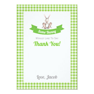 Some Bunny Thank You Card