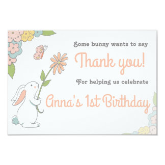 Some Bunny Thank you cards