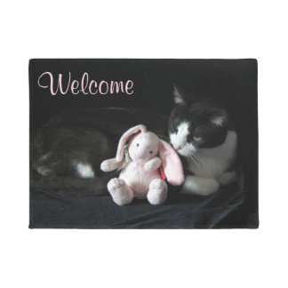 Some Bunny Wuv's You - Welcome Home Door Mat